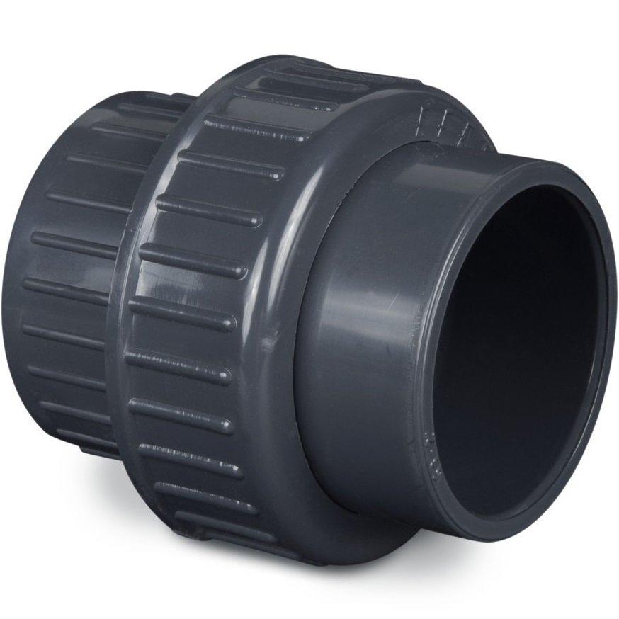 Bocchettone raccordo in pvc per filtro laghetto stagno for Filtro per stagno